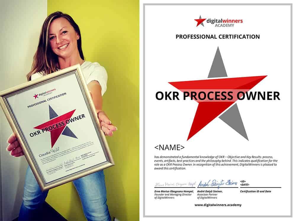 OKR Zertifikat